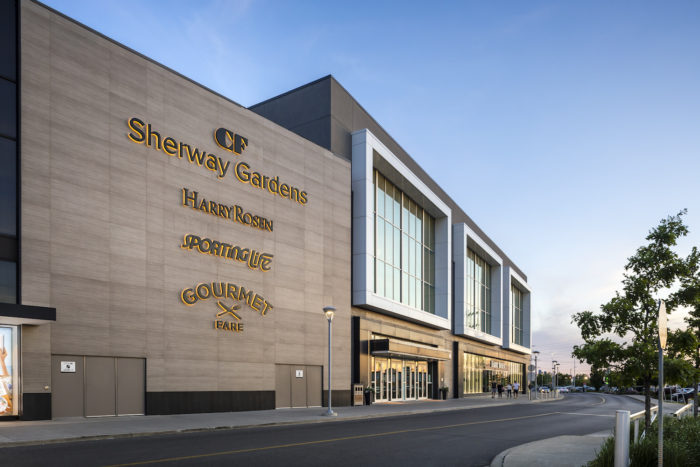 Sherway Gardens Shopping Centre Topronto Ontario